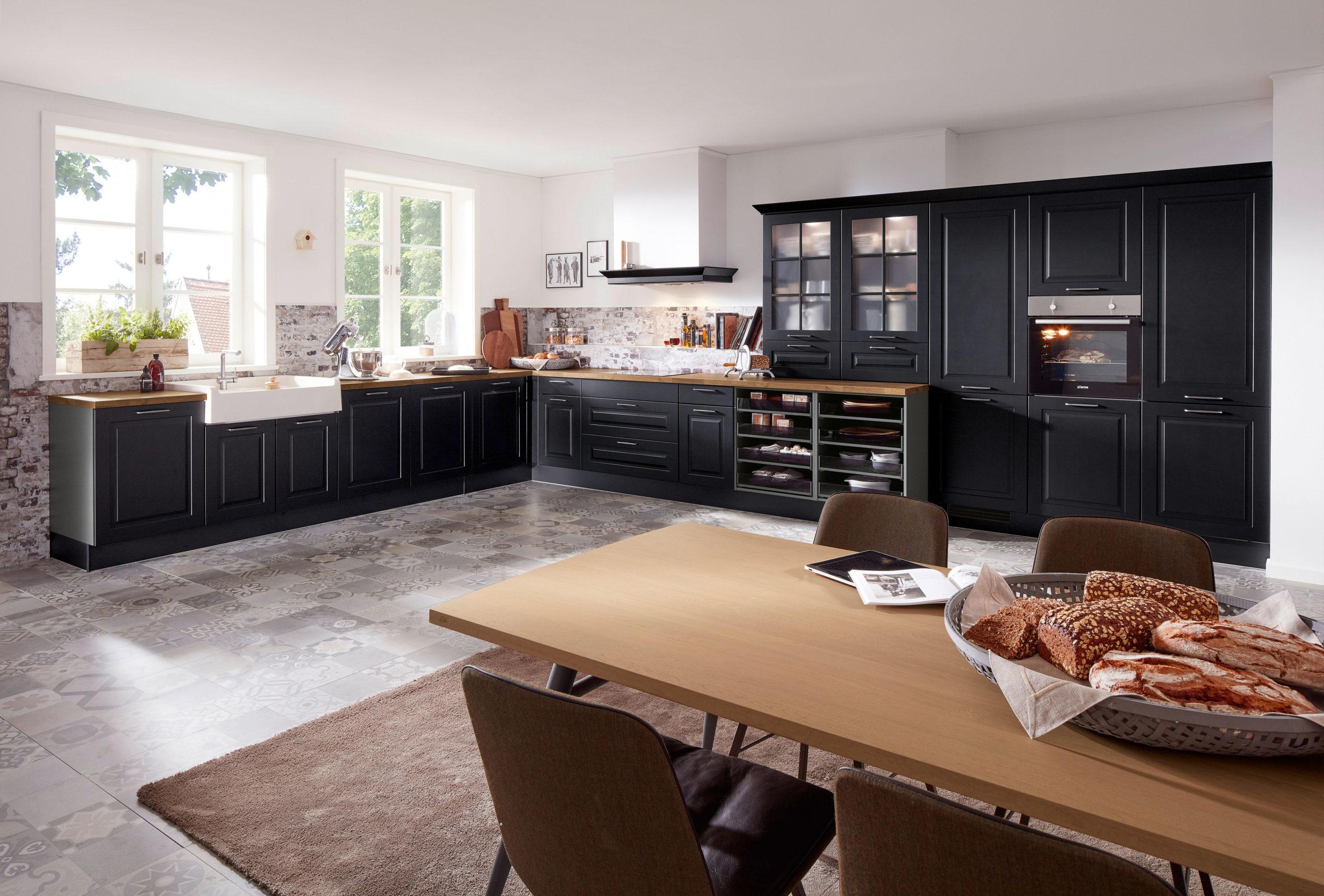 Kücheneinrichtung im Landhausstil
