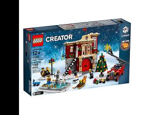 LEGO 10263 Winterliche Feuerwache (Weihnachtsset 2018)