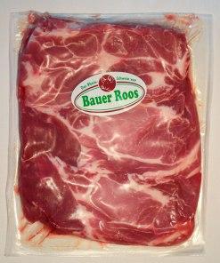 3 Nackensteaks vom Rheinschwein –Bauer Roos