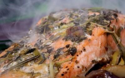 Frische Maischollen kulinarisch zubereitet