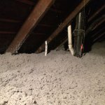 How is Cellulose Insulation Added into Attics?