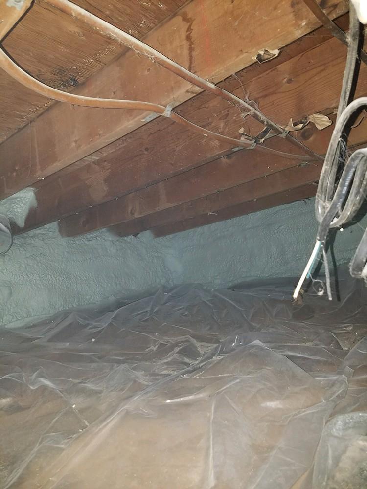 Damp Basement or Crawlspace? Get Help NOW - vapor barrier