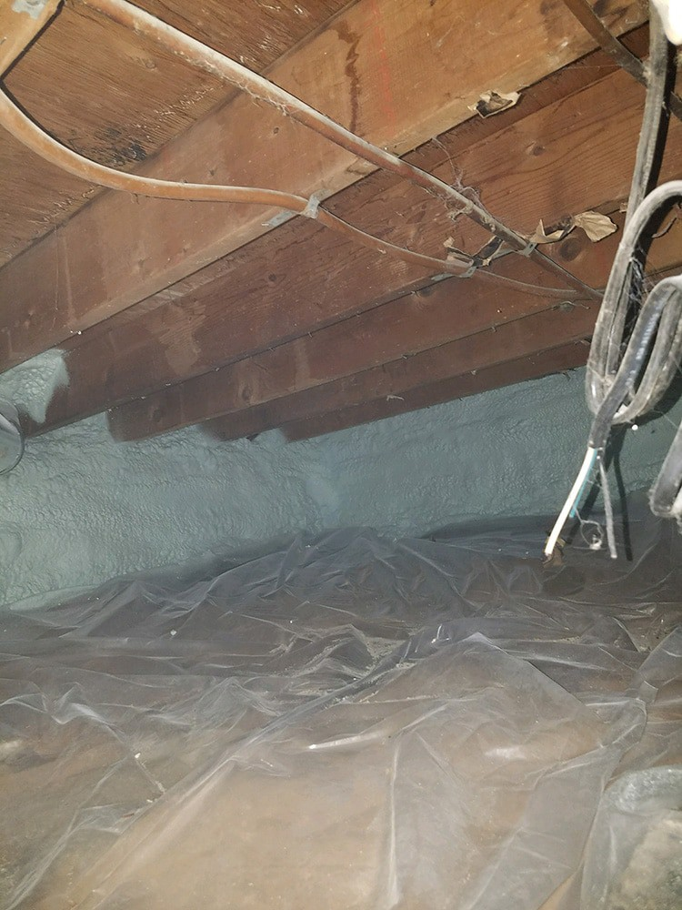 Damp Basement or Crawlspace? Get Help NOW - vapor barrier