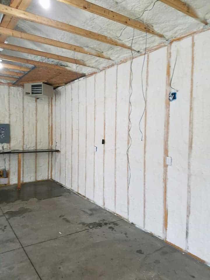 Garages Need Foam Insulation Too