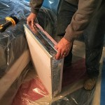 Using Cellulose for Attic Insulation: A Side-by-Side Comparison - insulating and sealing the access cover lid