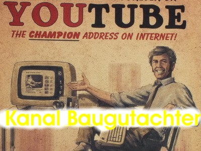 Baugutachter Kanal youtube