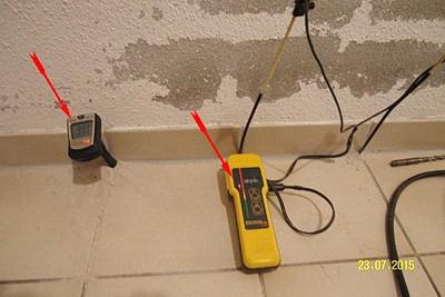 Haus Check Altbau feuchte Wand