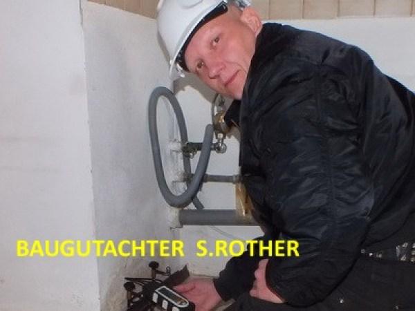 Baugutachten Baugutachter Beweissicherung Gutachter Estrich Gutachter Experte Flachdach S. Rother