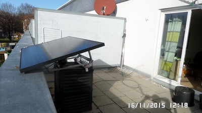 Mini solar PV Piratenanlage