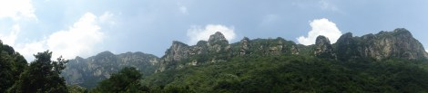 Peculiar rocks in Mount Lushan