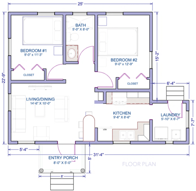 guavaberry 2bed-plans