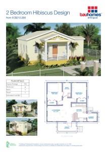 2 Bedroom Hibiscus Design v2.indd