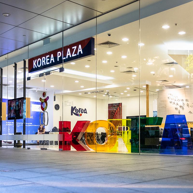 Korean Tourism Organization Singapore, Office Space Interior Design by Baum Project