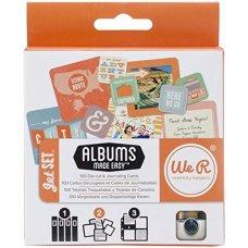 We R Memory Keepers Instagram Jet Set Journaling Cards