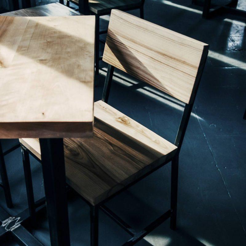 Meble nawymiar-krzesła
