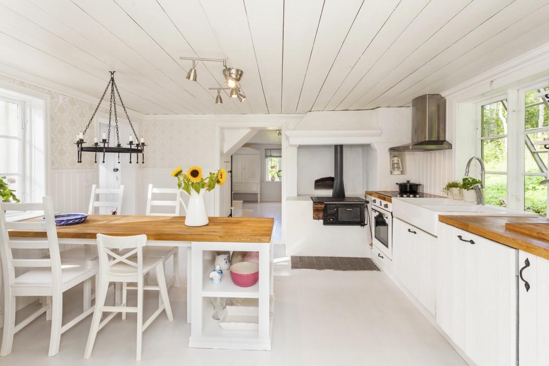 Kuchnia wstylu retro – szwedzki loft
