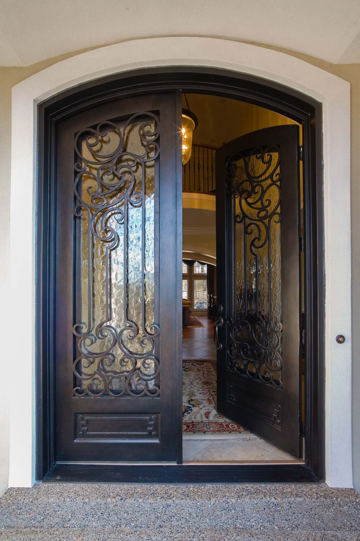 Custom Luxury Home Entrance Custom Luxury Home Builder