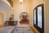Custom Luxury Home Entrance | Custom Luxury Home Builder ...