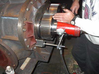 Rebuilt Holmes 1033 Gear Installation