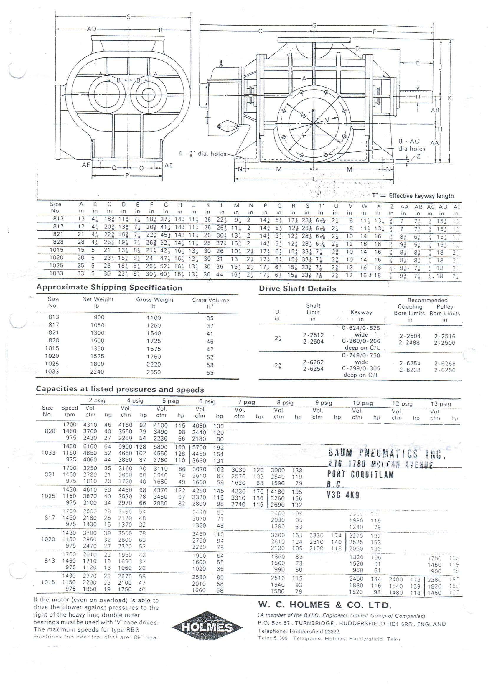 Baum Pneumatics / Pages