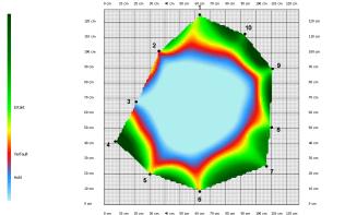 Schalltomographie Ebene 1