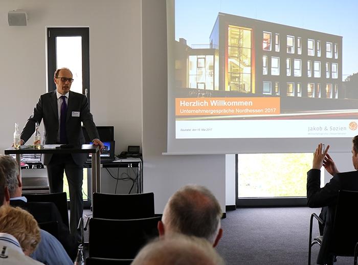 Unternehmergespräche Nordhessen 2017, Jakob & Sozien Baunatal