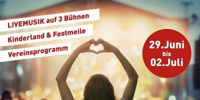 Stadtfest Baunatal; 29.6.2017.-2.7.2107, Nachrichten Baunatal