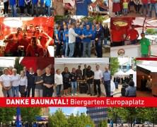 Baunatal, Biergarten Europaplatz, Ab in die Mitte 2017