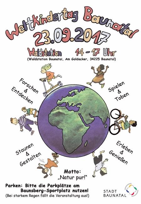 Baunatal, Kinder, Weltkindertag, natur pur
