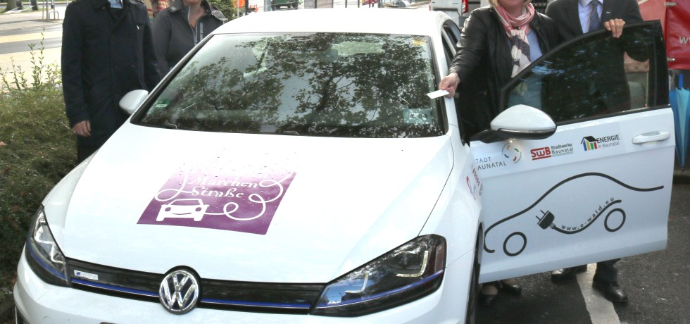 E-Mobilität Baunatal, eGolf, Deutsche Märchenstraße, Baunatal