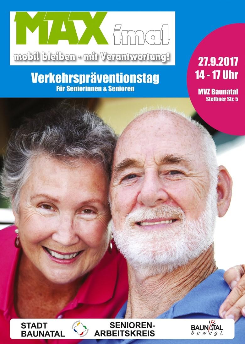 Verkehrspräventitionstag im MVZ Baunatal, Seniorenarbeitskreis Baunatal, Polizei Nordhessen
