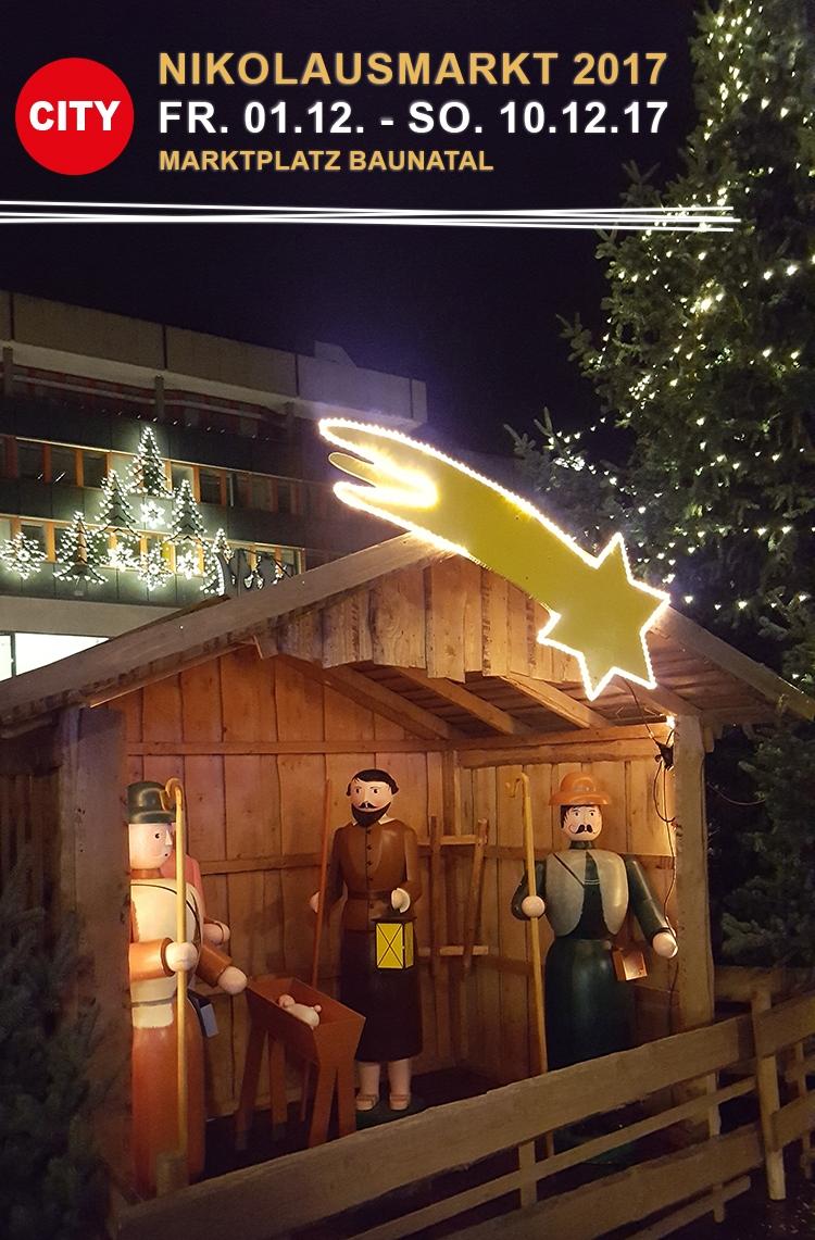 Nikolausmarkt Baunatal 2017 Weihnachtsmarkt Baunatal
