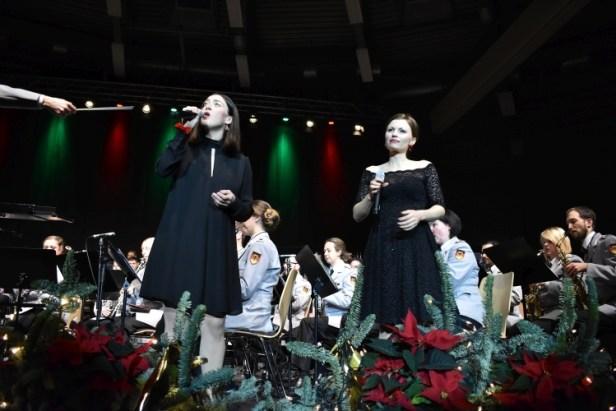 Weihnachtskonzert Baunatal, HMK Kassel, Nikole Jukic, Romana Reiff