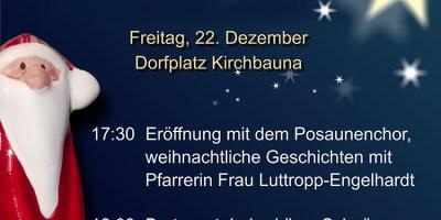 Nachrichten Baunatal, Kirchbauna, Baunatal Blog, Vereinsgemeinschaft Kirchbauna, Advent End, Stadtmarketing Baunatal