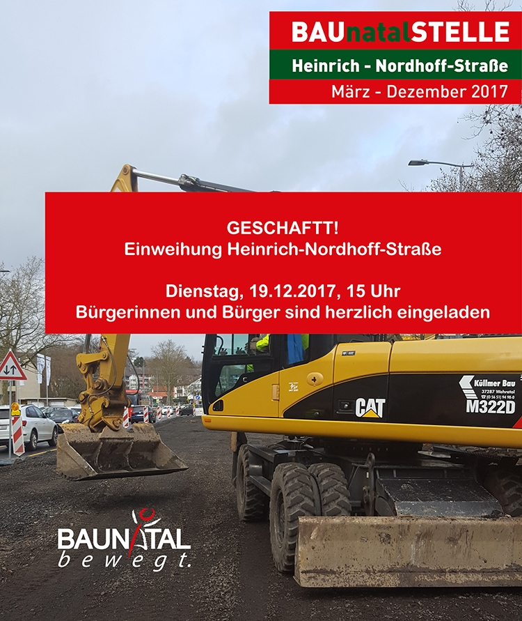 Baunatal; #bauantal; Baustelle Bauantal, Stadtmarketing Baunatal