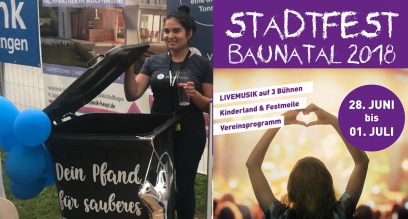 Stadtfest Baunatal, Ynspirewater, Baunatal, Stadtmarketing Baunatal