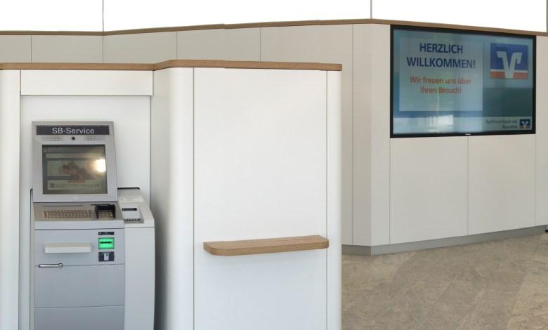 Raiffeisenbank Baunatal, Neugestaltung Raiffeisenbank Baunatal, Baunatal.Blog