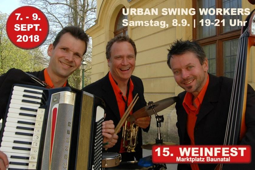 Weinfest Baunatal, 9.9.2018, Urban Swing Worker