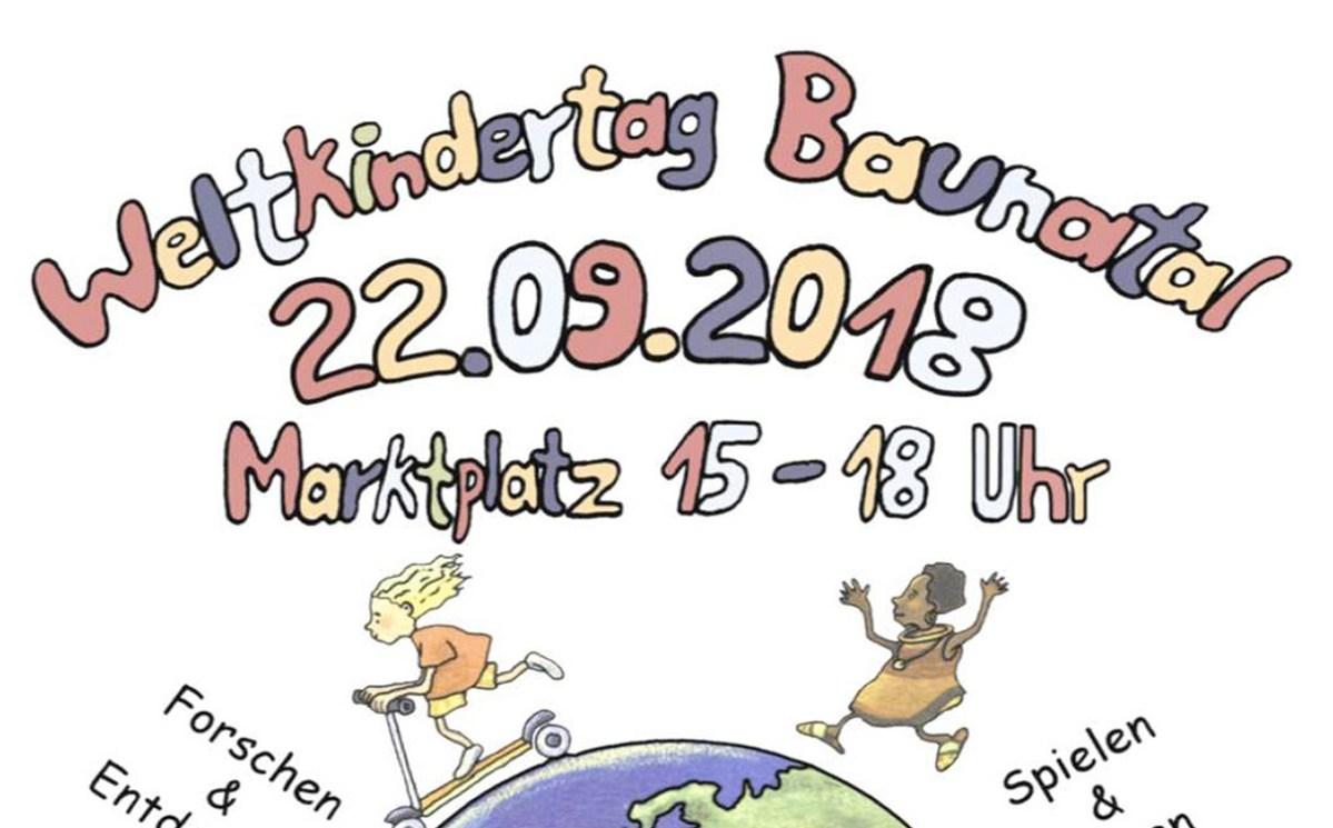 Weltkindertag in Baunatal am 22.9.2018 feiern