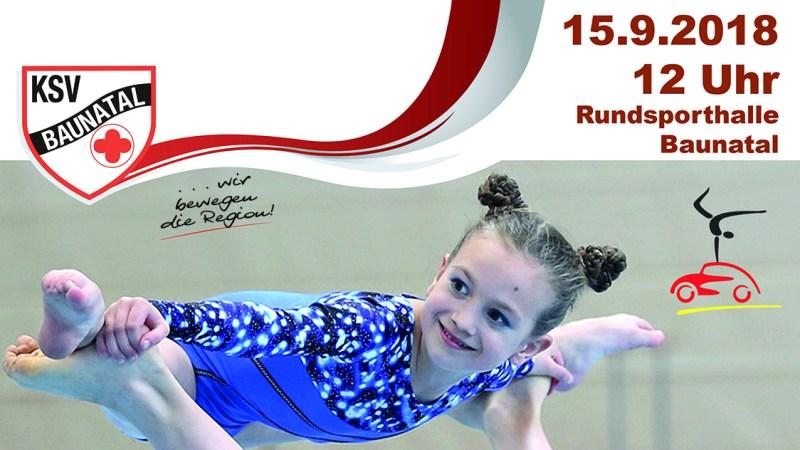 Hessische Meisterschaften der Sportakrobatik diesen Samstag in der Rundsporthalle Baunatal