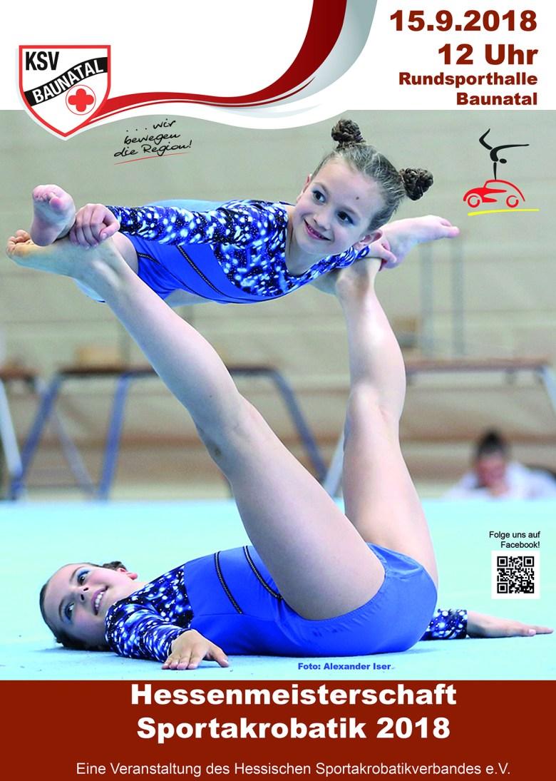 Sportakrobatik, KSV Baunatal Sportakrobatik, hessische Meisterschaften Baunatal