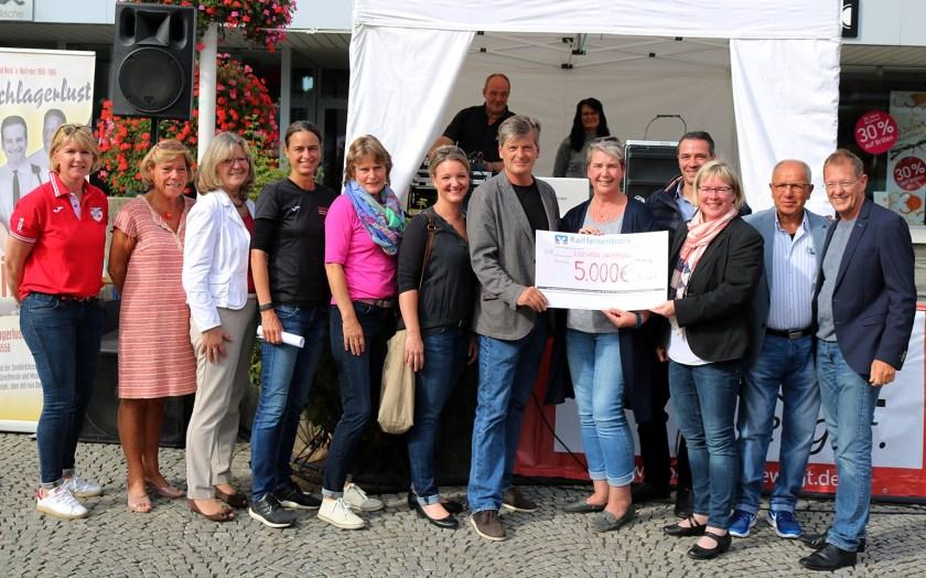 Biergarten Europaplatz Baunatal 2018, Verein für krebskranke Kinder Kassel, Stadtmarketing Baunatal