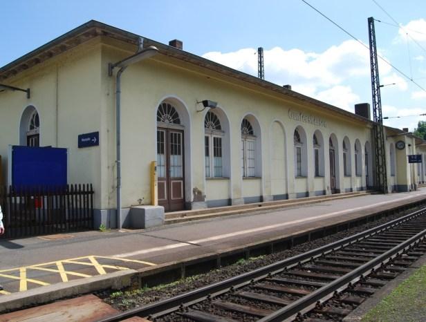 Tunnel Bahnhof Gunterhausen, Verkehrsmeldung Baunatal