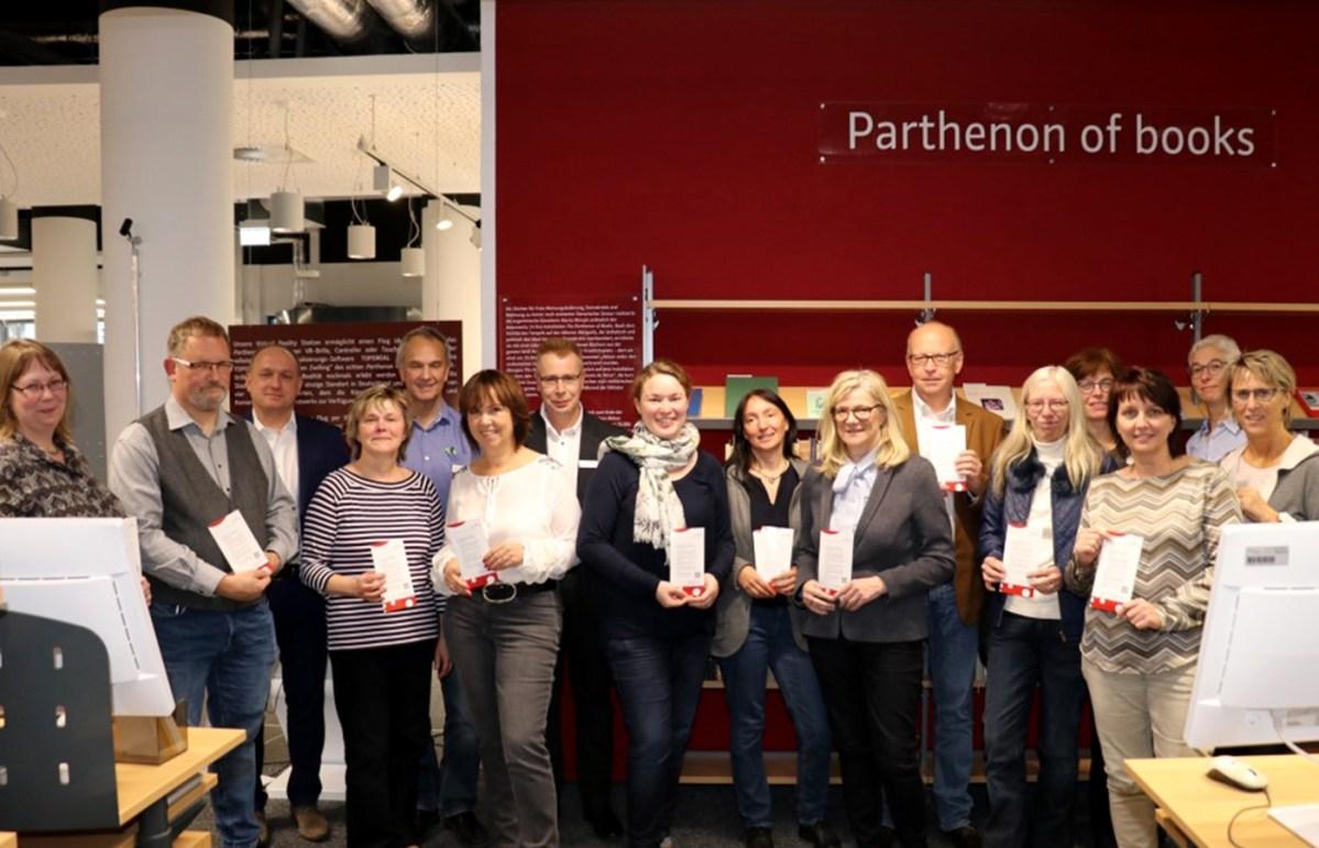 """Stadtbücherei Baunatal bei Gründung des regionalen Bibliotheksverbund """"NordhessenBib"""" dabei"""