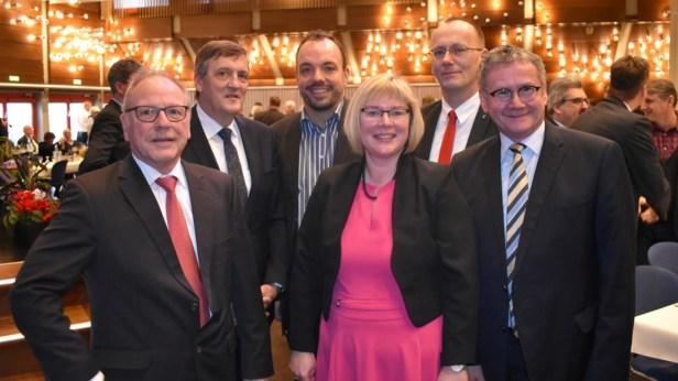 Baunatal, Neujahrsempfang Stadt Baunatal, Christian Geselle, Roger Lutzi, Silke Engler, Sven Strauß Landrat Uwe Schmidt, Martin berg