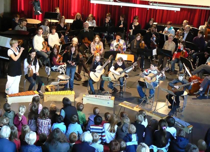 Musikschule Baunatal, Tag der Instrumente