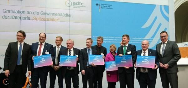 Baunatal, Berlin, Hessen, Deutschland, Fahrradfreundlichste Stadt, ADFC Fahrradklimatest