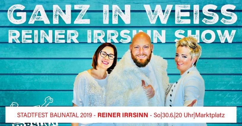 Sonntag - Stadtfest Baunatal 2019, Das Programm am Sonntag – Stadtfest Baunatal 2019