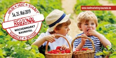 Regional schmeckt besser, Wochenmarkt Baunatal