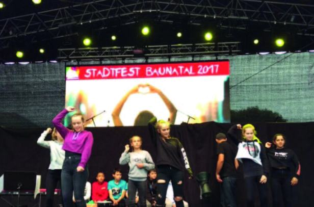 Stadtfest Baunatal,  Vergnügungsmeile, Fahrgeschäfte, Schausteller, Baunatal, EKS Baunatal